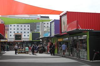 震災後第二十個月: re:start mall (Cashel Street)