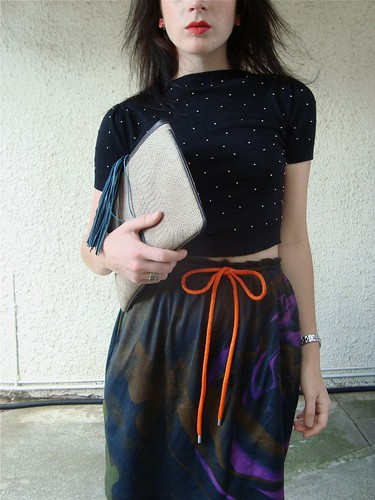 Goot skirt/cropped knit