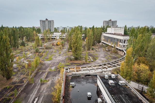 Pripyat - Lenin Square © by Michael Kötter