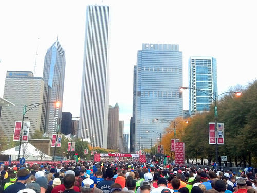running in the 2012 chicago marathon! II.