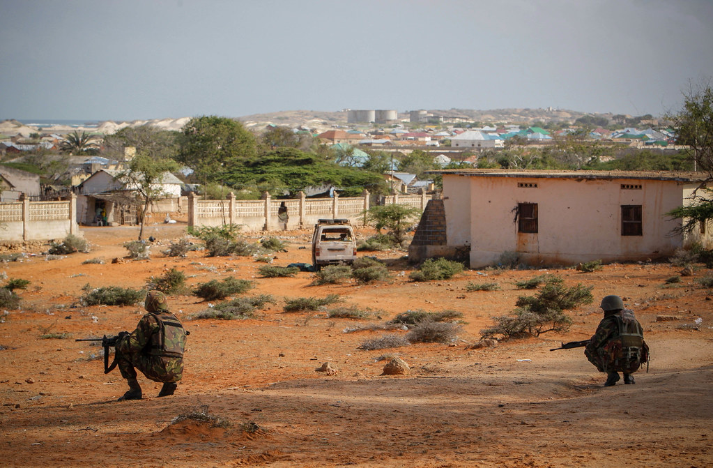 AMISOM Combat Engineers search for IEDs in Kismayo 16