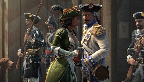 Assassin's Creed III: Liberation for PS Vita - Lady persona