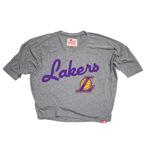 Los Angeles Lakers Marshall T Shirt By Sportiqe
