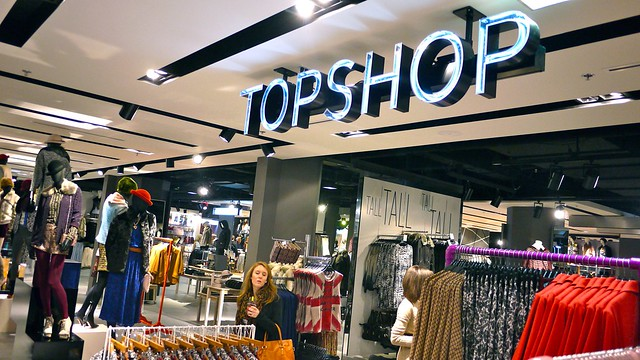 Topshop & Topman Vancouver | The Bay, Pacific Centre