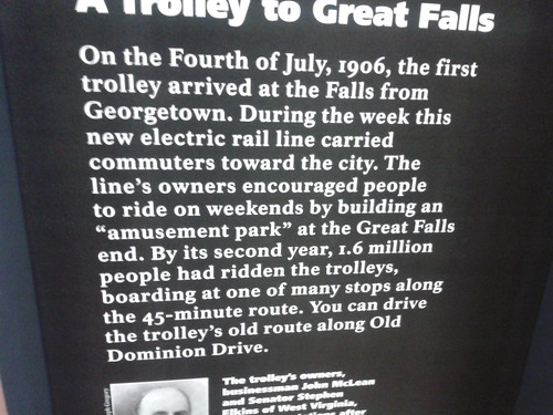 A trolley to Great Falls