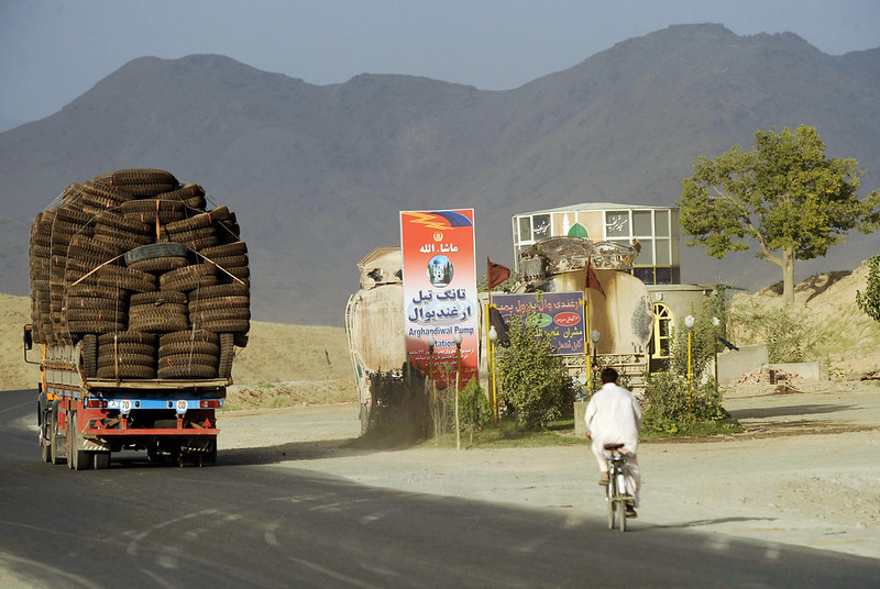 Kabul-Kandahar Highway One