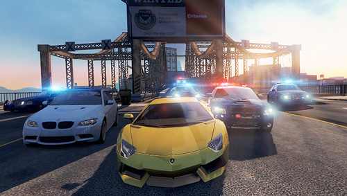 Need for Speed Most Wanted on PS Vita