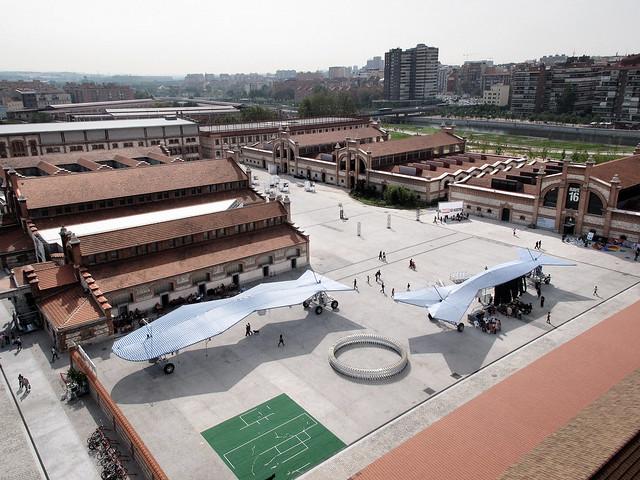 Vista aérea Matadero Madrid