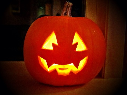 Pumpkin face..
