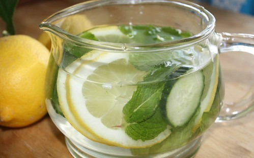Infused Water for Upset Stomach