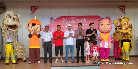 Mini Karnival Tune Talk Bersama Safee Sali dan BoboiBoy
