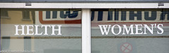 Helth Woman's - Do Signwriters Ever Check Their Work