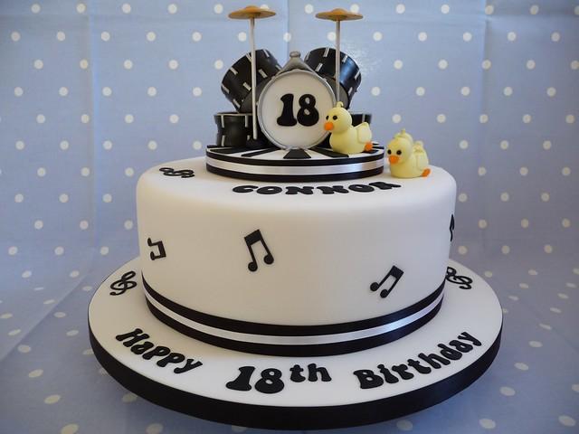 Cake Decorating Drum Kit : Drum kit cake Flickr - Photo Sharing!