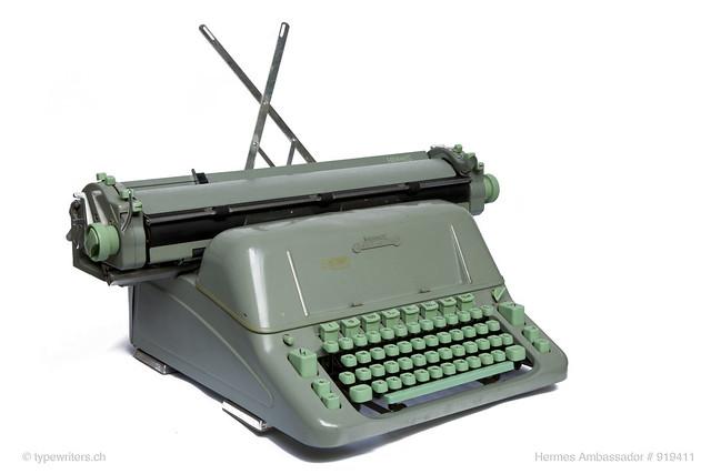 Hermes Ambassador typewriter 1962
