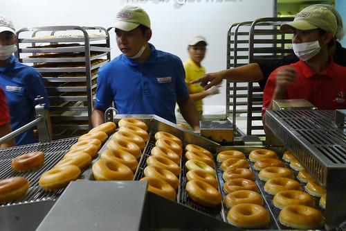 Krispy Kreme Davao Doughnut Theater SM Davao Annex