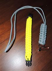 paracord lanyard & bracelet