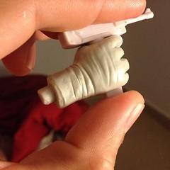 Making a new hand #helllotus nueva Mano para el hell lotus, el arma un accesorio de un Symbiote toy.