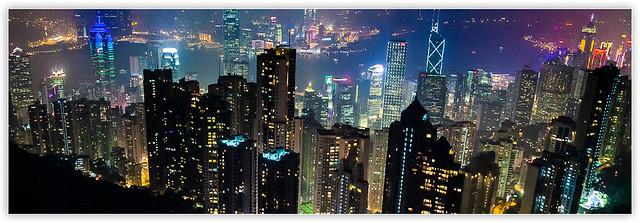 2011香港夜景