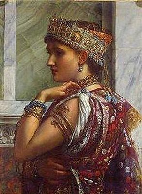 Sir Edward Poynter, Zenobia Captive 1878