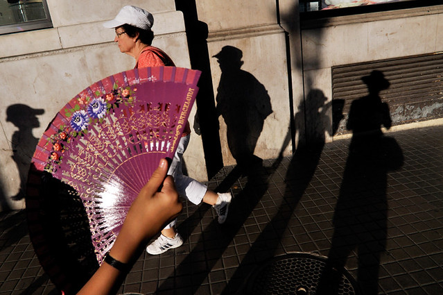 Barcelona - Great Examples of Shadows in Street Photography