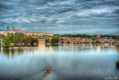 [Criss.AC] Prague Castle Vltava Karluv Most Prague by Criss.AC