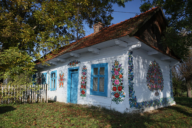 Zalipie - malowana wieś / Zalipie - painted village