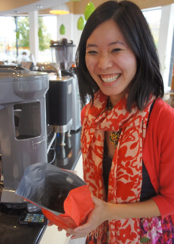 Jenn Chen the Caffentures Coffee Girl
