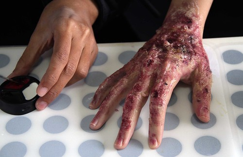 Special effects make-up for Halloween - Youth.SG