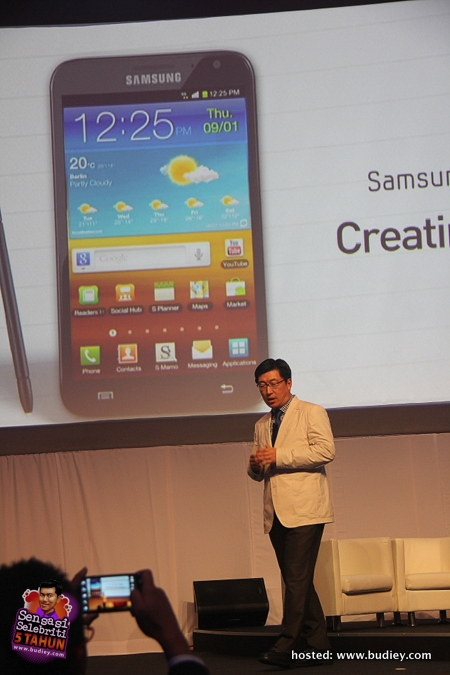 Samsung Galaxy Note II Launch