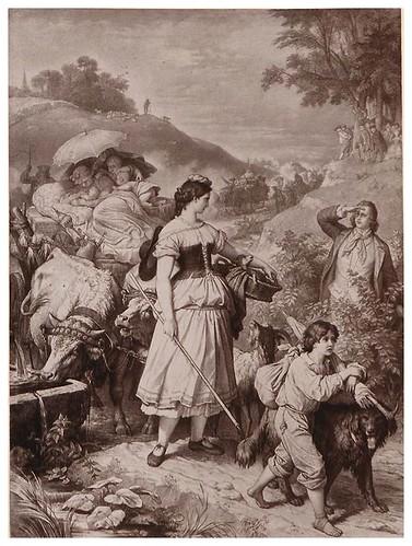 002-Herman y Dorotea-Goethe-Galerie…1867- W. von Kaulbach- Universität Düsseldorf