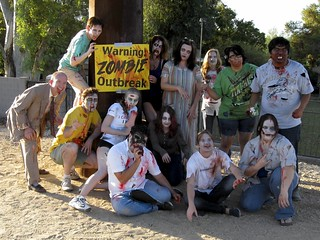 Zombathalon - Zombie Outbreak Warning!