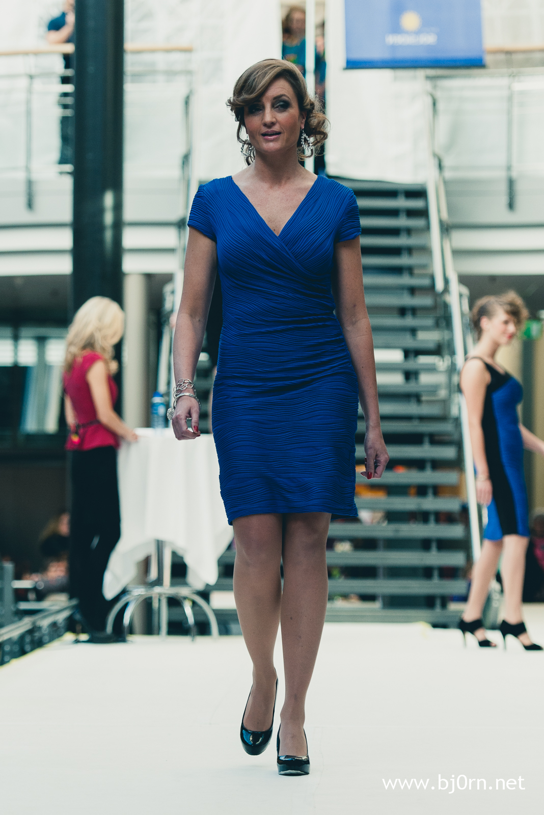 Stylist Line Solbakken - Fashion show at Solsiden Senter - October 2012