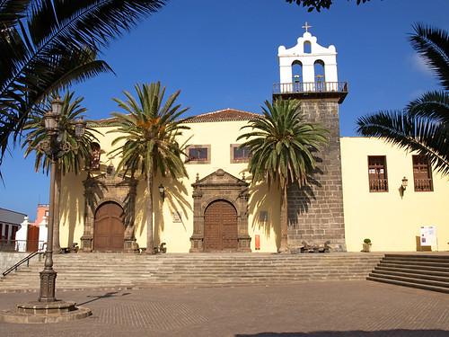 Plaza in Garachico, Tenerife