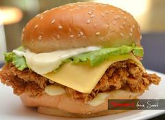 hamburger(0.0), slider(0.0), sloppy joe(0.0), veggie burger(0.0), big mac(0.0), sandwich(1.0), meal(1.0), breakfast(1.0), meat(1.0), food(1.0), dish(1.0), breakfast sandwich(1.0), fast food(1.0), cheeseburger(1.0),