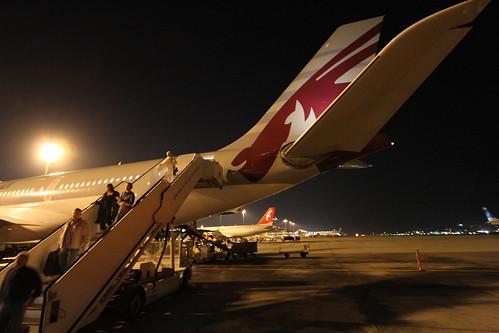 Doha International Airport, Qatar.