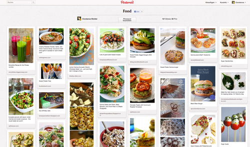 Pinterest_Pinnwand Food
