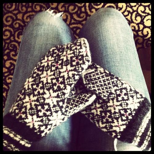 estonian mittens