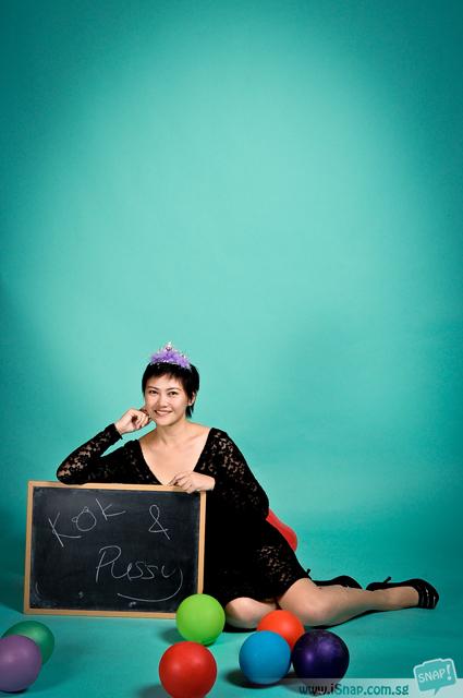 Cheryl with chalkboard