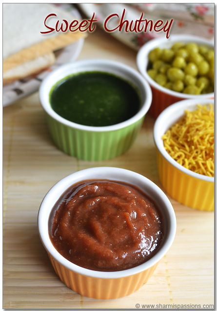 Sweet Chutney Recipe