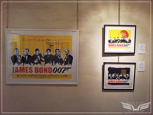 The Establishing Shot: EVERYTHING OR NOTHING - 50 YEARS OF JAMES BOND EXHIBITION AT MOUNT STREET GALLERIES – FINAL JAMES HART DYKE EVERYTHING OR NOTHING FILM POSTER & JAMES BOND 50th ANNIVERSARY STUDIES by Craig Grobler