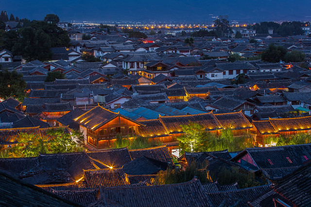 Rooftop of Lijiang