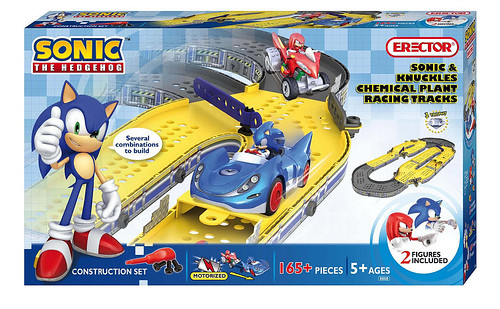 Sonic the Hedgehog set from Erector