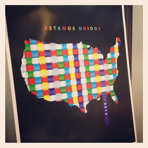 #estamosunidos #2012 #national #museum of #americanlatino awesome poster made by a #twitter contributor. #latism #latism12 #latismhou