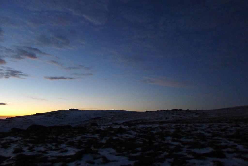 Dawn over Cnap a' Chleirich