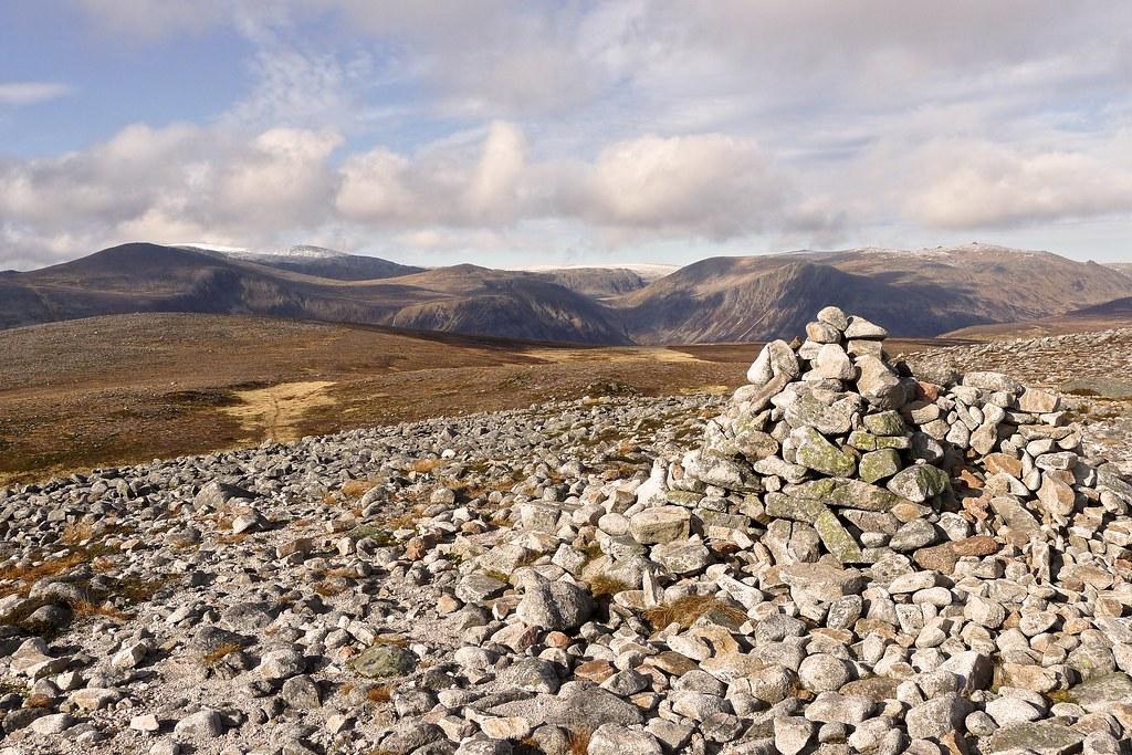 Summit of Beinn Bhreac