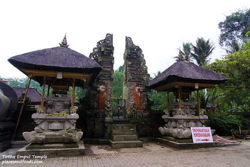 Tirtha Empul Temple Front