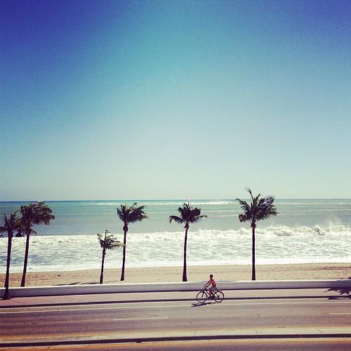 Pretty beach day