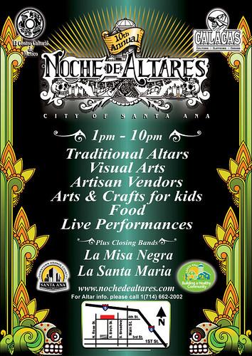 Noche de Altares / Santa Ana Art Walk 11/3/12