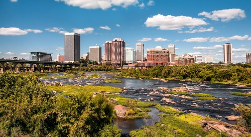 Richmond Virginia - River City | by Sky Noir