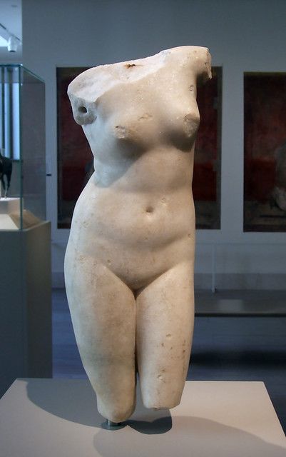 Marble Statue of Aphrodite Anadyomene in the Metropolitan Museum of Art, May 2011